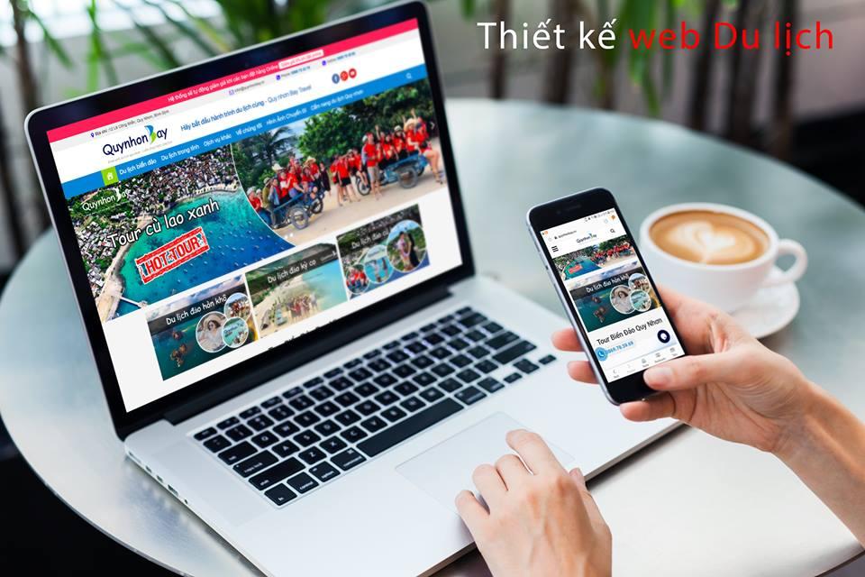 Thiết kế web du lịch chuẩn seo tại Quy Nhơn