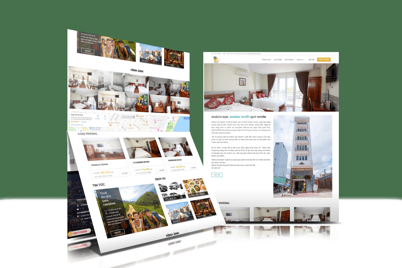 web khách sạn quy nhơn