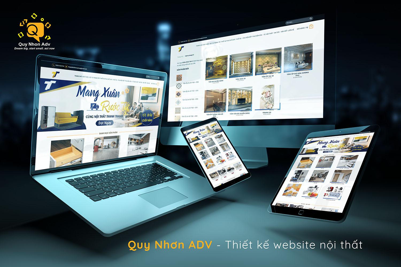 Thiết kế web nội thất Quy Nhơn truyền cảm hứng kinh doanh cho bạn
