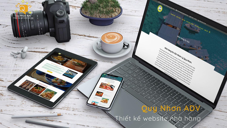 website nhà hàng tại quy nhơn