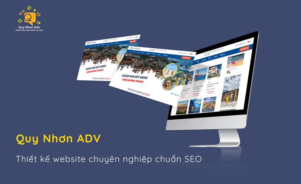 Thiết kế website giá rẻ Quy Nhơn uy tín chuyên nghiệp chuẩn SEO