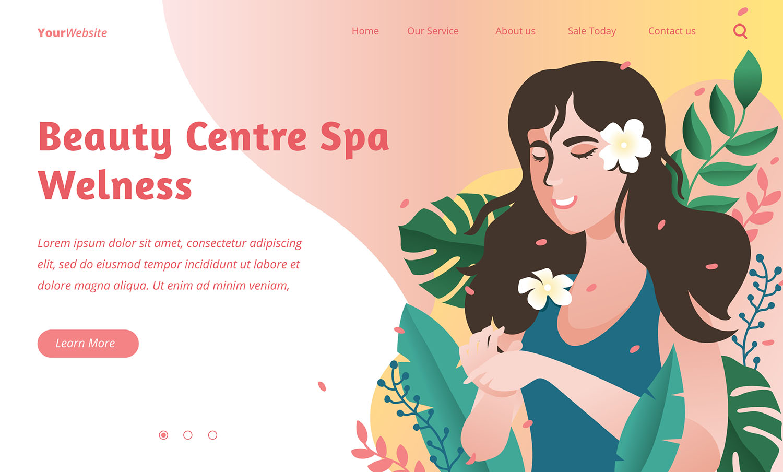 Thiết kế website spa tại Quy Nhơn thu hút khách hàng